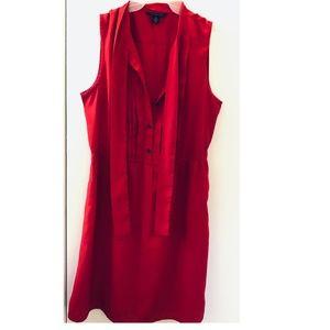 Tommy Hilfiger knee length red dress